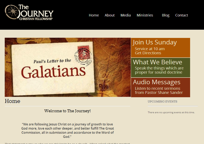 the journey of christianity